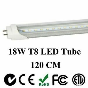 4 1000 Pack G13 Led 18w 4ft Foot 48 Inch T8 Fluorescent Tube Lights 6000k 4000k