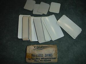 1951 54 Packard Windshield Filter Shims Pa 13552 Nos