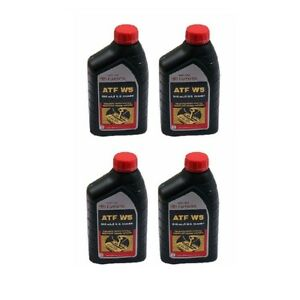 4 Automatic Transmission Fluid 00289atfws For Toyota Highlander Camry Tundra