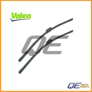 2 Windshield Wiper Blades Valeo 1k1955426a For Audi A4 A6 A4 Quattro Rs4 S4