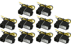 10 Lot 1 4 Npt Electric Plastic Solenoid Air Water Valve Nc 12v Dc Pneumatic