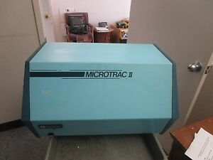 Leeds Northrup Microtrac Ii Particle Size Analyzer Model 158704
