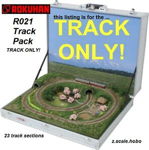 rokuhan z scale r021 track set for