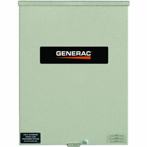 Generac 400 amp Automatic Smart Transfer Switch W Power Management