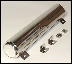 2 X 17 Stainless Ss Radiator Overflow Tank S 6074 X Clearance