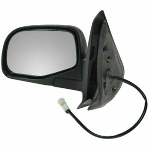 Power Side View Mirror Driver Left Lh For 01 05 Ford Explorer Sport Trac