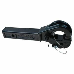Curt 48004 Receiver Mount Pintle Hook 2 Hitch 14 1 2 Towing 20000lbs