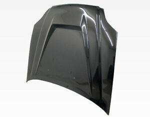 Vis 99 00 Civic Carbon Fiber Hood Invader Ek