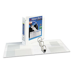 Avery Extra wide Ezd Reference View 3 ring Binder 2 Capacity White Ave01320