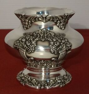 Reed Barton King Francis Silver Plated Waste Bowl For Tea Set Ornate 1654 I