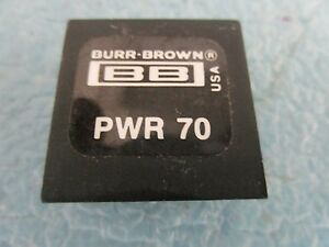 Burr Brown Model Pwr 70 Dc To Dc Converter Unused Old Stock