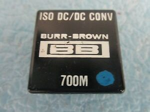 Burr Brown Model 700m Iso Dc dc Converter Unused Old Stock
