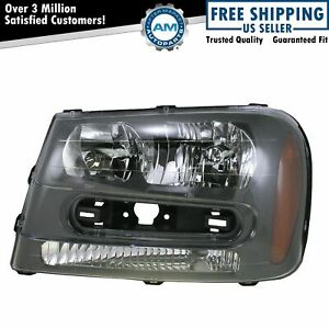 Headlight Headlamp Driver Side Left Lh For 02 09 Chevy Trailblazer Ext