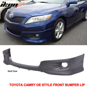 Fits 10 11 Toyota Camry Oe Style Front Lower Bumper Valance Spoiler Lip Pu