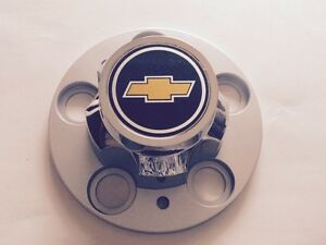 One 77 95 Chevrolet 5 Lug Truck Rally Wheel Center Cap With Emblem Insert 2 1 2