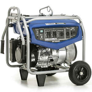 Yamaha Ef7200de 7200 Watt Electric Start Professional Portable Generator