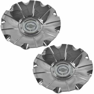Oem 1dk11sz0aa Wheel Rim Center Cap Cover Chrome Pair For Chrysler 300 New