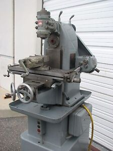 Sheldon No 0 Horizontal Vertical Mill Milling Machine 115 Volt With Vise Rusnok