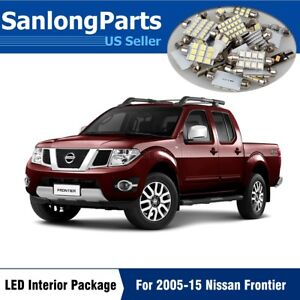 7pcs White Led Package Kit For 2005 2015 Nissan Frontier