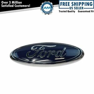 Oem Cl3z 8213 A Blue Oval Grille Emblem Nameplate For Ford Pickup Suv Truck New