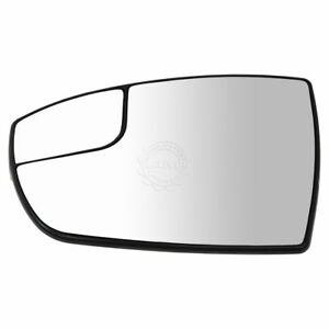 Power Heated Spotter Mirror Glass W Mounting Base Driver Side For C Max Escape