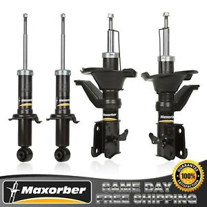 Maxorber Fits 2003 2005 Honda Civic Full Set Shocks Struts 341362