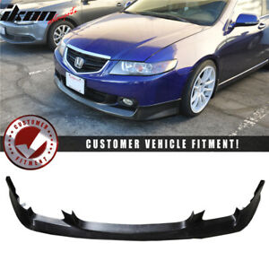 Fits 04 05 Acura Tsx Oem Aspec Style Front Bumper Lip Polyurethane