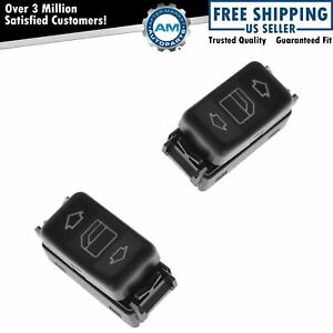 Window Switch Console Power Mounted Pair Set Of 2 For Mb 190 260 300 350 420 560