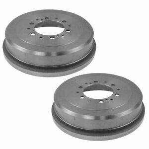 Brake Drum Rear Pair Set For Toyota 4runner T100 Tacoma Tundra Pickup