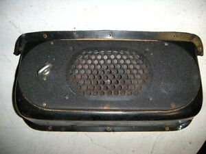 Mercedes Adenauer W186 300 Rare Early Radio Speaker Under Dash Original