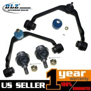Both 2 Front Upper Control Arms All 4 Ball Joints For Ford Expedition