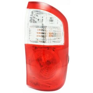 Tail Light For 2004 2006 Toyota Tundra Rh Crew Cab Pickup