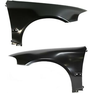 Fender Set For 1992 95 Honda Civic Coupe Hatchback With Molding Holes Front 2pc