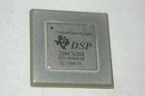 Texas Instruments Tms320c6201gjc 200 Fixed Point Dsp 352 fc csp Qty 1