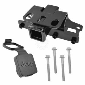 Oem 82210230 Trailer Tow Hitch Receiver With Cover For 07 15 Jeep Wrangler New