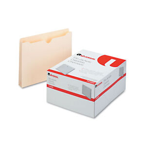 Universal Economical File Jackets 1 1 2 Inch Expansion Letter 11 Point Manila 50