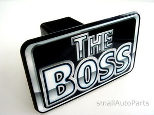 The Boss Tow Hitch Cover Towing Car Truck Suv Trailer 2 Receiver Plug Cap