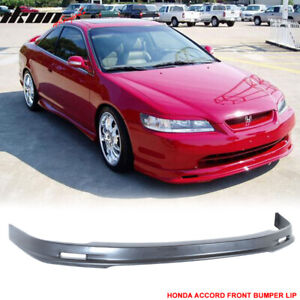 Fits 98 00 Honda Accord 2dr Coupe Mugen Style Front Bumper Lip Pp