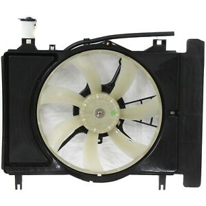 Radiator Cooling Fan For 2007 2014 Toyota Yaris Sedan Hatchback