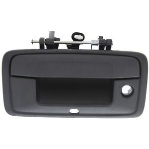 Tailgate Handle For 2014 2015 Chevrolet Silverado 1500 W Camera Hole Black
