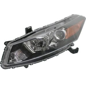 New Headlight Lamp Driver Left Side Lh Hand Coupe For Honda Accord 2008 2012