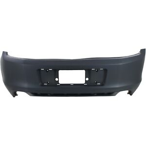 New Primered Rear Bumper Cover For 2013 2014 Ford Mustang Without Park Assist