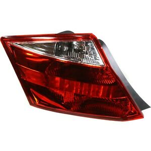 Tail Light For 2008 2010 Honda Accord Lh Coupe