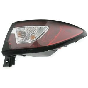 Tail Light For 13 16 Chevrolet Traverse Passenger Side Outer Body Mounted