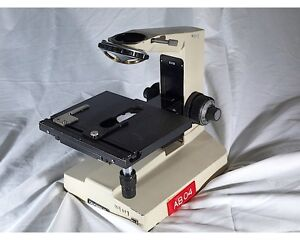 olympus Bhm Metallurgical Microscope frame With Large Stage And Neo Turret