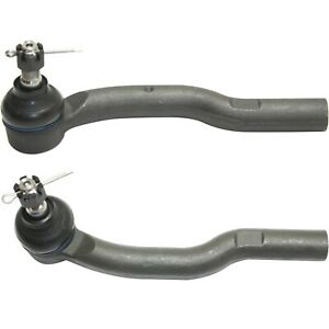 Tie Rod End For 05 2008 Toyota Camry 2 Outer Tie Rod Ends Front Outer Set Of 2