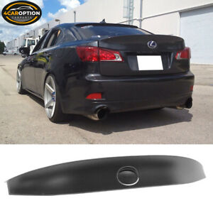 For 06 13 Lexus Is250 Is350 Isf Wd W Style Abs Rear Trunk Spoiler Wing Lip Lid