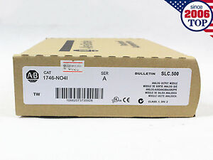 New Sealed Allen Bradley 1746 no4i Slc 500 Plc Analog Output 1746no4i