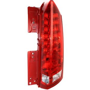 Tail Light For 2010 2016 Cadillac Srx Passenger Side