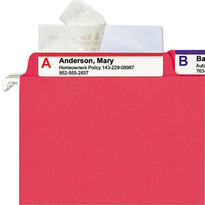 Smead Seal View File Folder Label Protector Clear Laminate 7 Packs Of 100